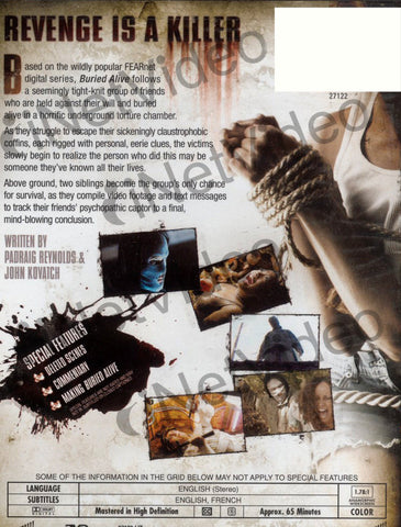 Buried Alive (Paul Etherredge) DVD Movie