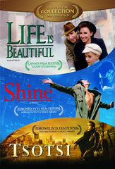 Life Is Beautiful/Tsotsi/Shine (Triple Feature) (Boxset) (Bilingual)