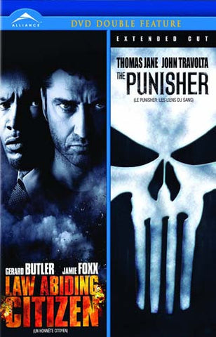 Law Abiding Citizen/Punisher (Extended Cut) (Double Feature) (Bilingual) DVD Movie