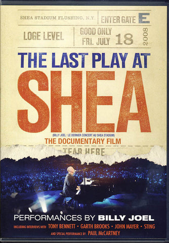 The Last Play at Shea (Bilingual) DVD Movie