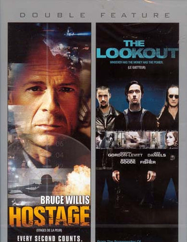 Hostage / The Lookout (Double Feature) DVD Movie