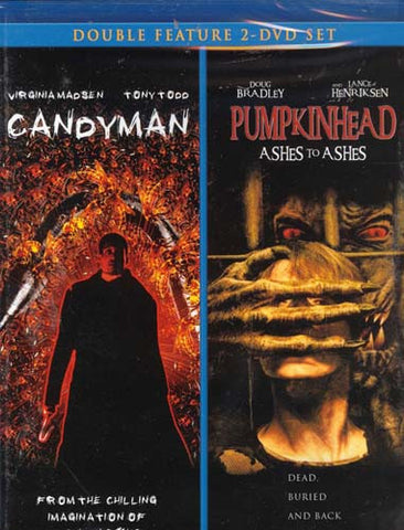 Candyman / Pumpkin Head (Double feature) DVD Movie