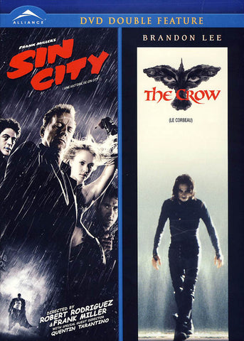 Sin City / The Crow (Double Feature) (Bilingual) (Blue Cover) DVD Movie