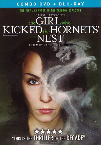 The Girl Who Kicked the Hornet's Nest (Combo DVD + Blu-ray) (Blu-ray) (DC) (English Dubbed Version) BLU-RAY Movie