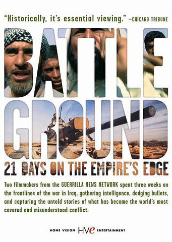 BattleGround - 21 Days on the Empire's Edge DVD Movie