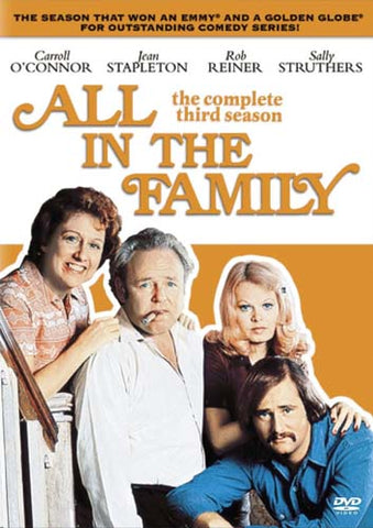 All In The Family - The Complete Third Season (Boxset) DVD Movie