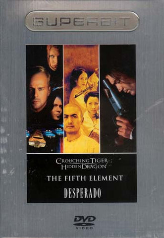 Crouching Tiger, Hidden Dragon / The Fifth Element / Desperado (Superbit) (Boxset) DVD Movie