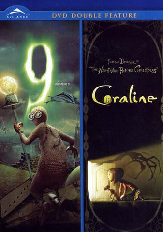 9 / Coraline (Double Feature) (Bilingual) DVD Movie