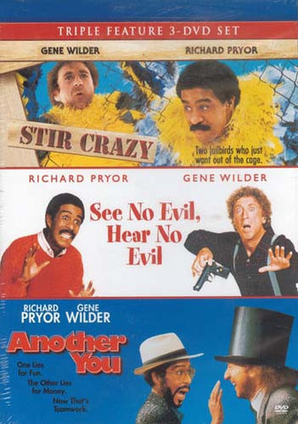 Stir Crazy / See No Evil, Hear No Evil / Another You (Richard Pryor Triple Feature) DVD Movie