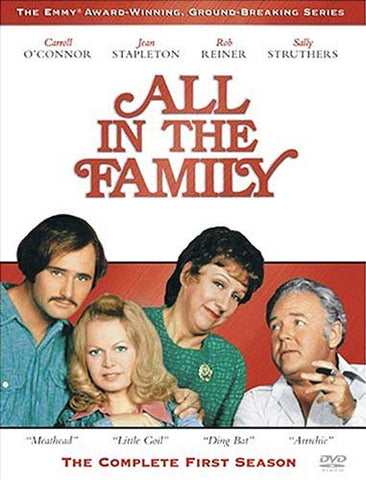 All In The Family - The Complete First Season (Boxset) DVD Movie