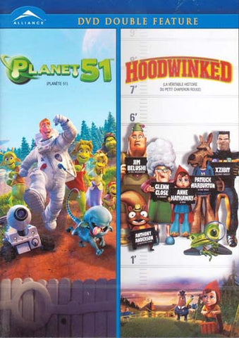 Planet 51 / Hoodwinked (DVD Double Feature)(bilingual) DVD Movie