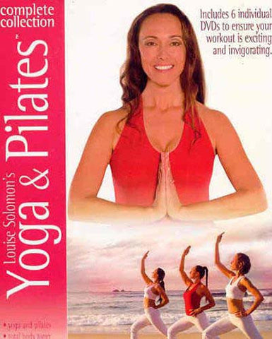 Louise Solomon Yoga And Pilates - Complete Collection (Boxset) DVD Movie