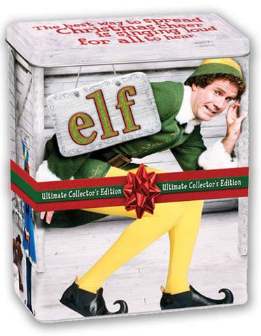 Elf - Ultimate Collector's Edition (Tin Steel) (Boxset) DVD Movie