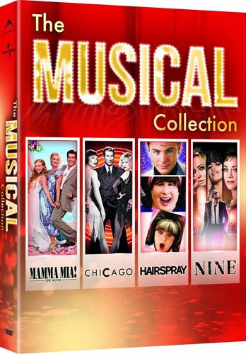the musical collection mamma mia chicago hairspray
