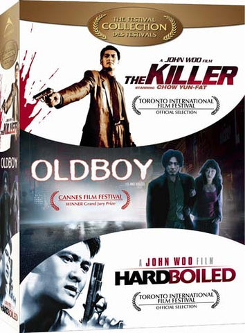 The Killer / Oldboy / Hard Boiled (The Festival Collection) (Boxset) (Bilingual) DVD Movie