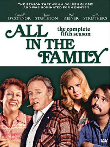 All in the Family - The Complete Fifth Season (Boxset) DVD Movie