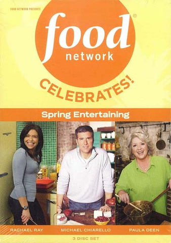 Food Network - Celebrates! Spring Entertaining (Boxset) DVD Movie