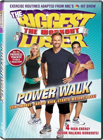The Biggest Loser - The Workout - Power Walk (Maple) DVD Movie