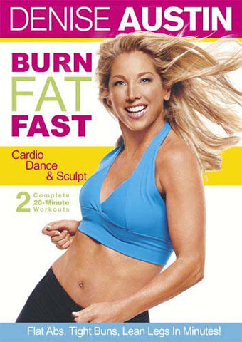 Denise Austin - Burn Fat Fast - Cardio Dance and Sculpt (LG) DVD Movie