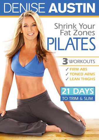 Denise Austin - Shrink Your Fat Zones Pilates DVD Movie