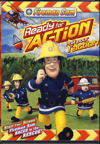 Fireman Sam - Ready for Action (Bilingual) DVD Movie