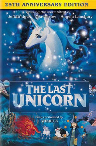 The Last Unicorn (25th Anniversary Edition) DVD Movie