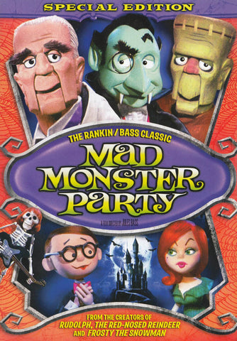 Mad Monster Party (Special Edition) DVD Movie