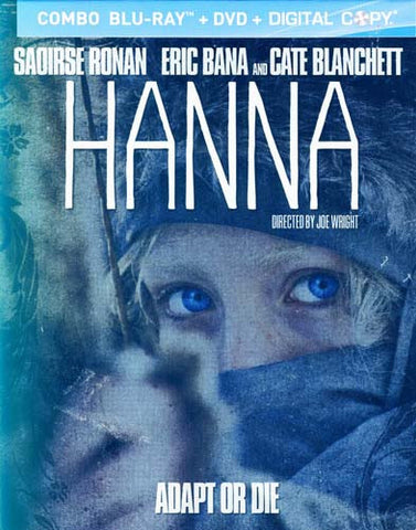 Hanna (Blu-ray+DVD+Digital Copy Steelbook Case) (Bilingual) (Blu-ray) BLU-RAY Movie