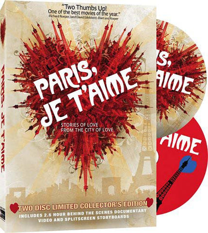 Paris, Je T'Aime (Two Disc Limited Collector's Edition) DVD Movie