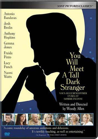 You Will Meet a Tall Dark Stranger DVD Movie