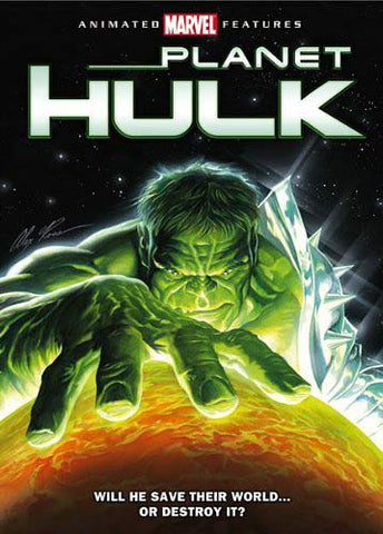 Planet Hulk DVD Movie