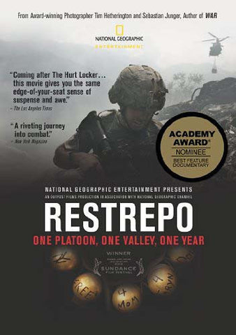 Restrepo DVD Movie