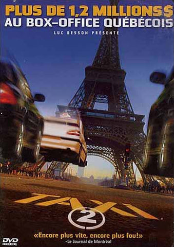 Taxi 2 (Maple) DVD Movie