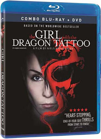 The Girl with the Dragon Tattoo (Combo Blu-ray + DVD) (Blu-ray) (English Dubbed Version) BLU-RAY Movie
