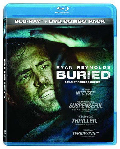 Buried (Two-Disc Blu-ray/DVD Combo) (Bilingual) (Blu-ray) BLU-RAY Movie