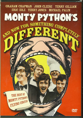 Monty Python's - And now For Something Completely Different (Red Cover) DVD Movie