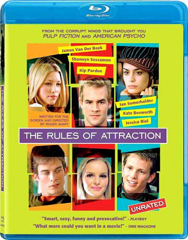 The Rules of Attraction (Blu-ray) BLU-RAY Movie