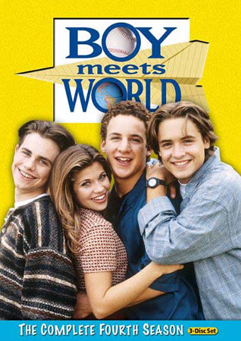 Boy Meets World - The Complete Season 4 DVD Movie