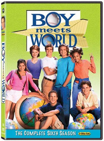 Boy Meets World - The Complete Sixth Season (6th) (Keepcase) (MAPLE) DVD Movie