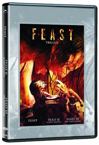Feast Trilogy (Feast / Feast 2 - Sloppy Seconds / Feast 3 - The Happy Finish) DVD Movie