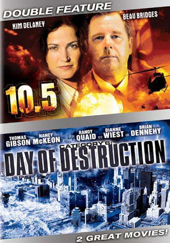 10.5 / Category 6: Day of Destruction (Double Feature) DVD Movie