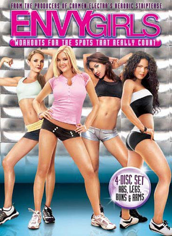 Envy Girls - Workouts for the Spots That Really Count (Boxset) DVD Movie