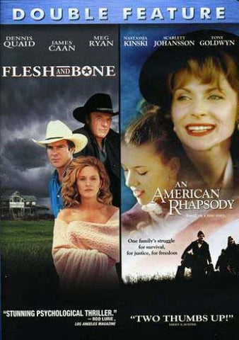 Flesh And Bone / An American Rhapsody (Double Feature) DVD Movie