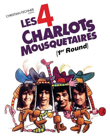 Les 4 Charlots Mousquetaires (1er Round) DVD Movie