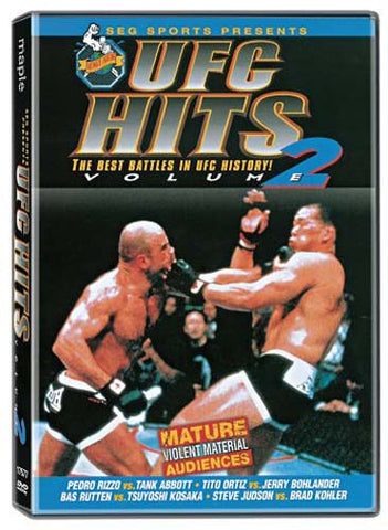 UFC Hits - Vol 2 (Best Battles in UFC History!) (MAPLE) DVD Movie