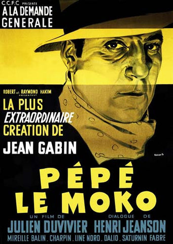 Pepe Le Moko DVD Movie