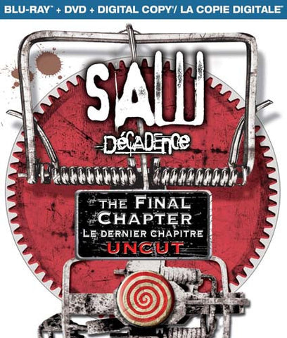 Saw: The Final Chapter (Two-Disc Blu-ray/DVD Combo) (Bilingual) (Blu-ray) BLU-RAY Movie