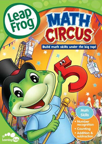 Leap Frog - Math Circus (Build marth skills under the big top!) (LG) DVD Movie