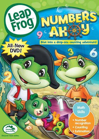 Leap Frog - Numbers Ahoy DVD Movie