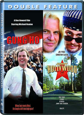 Gung Ho / Jimmy Hollywood (Double Feature) DVD Movie